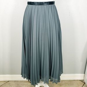 Banana Republic Pleated Maxi Skirt
